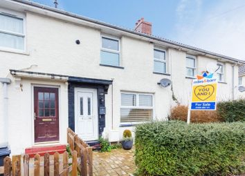 Thumbnail 2 bed terraced house for sale in Terrace Road, Elvington, Dover