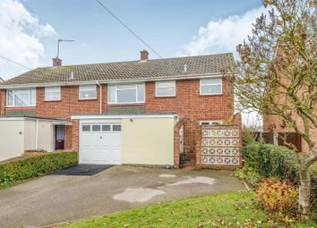 Thumbnail 3 bedroom semi-detached house for sale in Glebe Road, Kelvedon, Colchester
