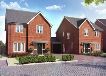 "Thumbnail 4 bed link-detached house for sale in ""The Larfield"" at Main Street, Grendon Underwood, Aylesbury"