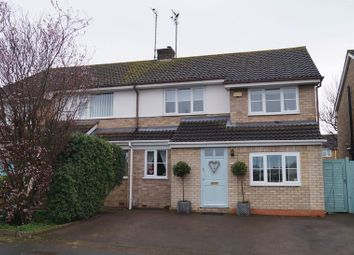 Thumbnail 4 bed semi-detached house for sale in Pinemount Road, Hucclecote, Gloucester