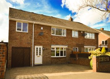 Thumbnail 4 bedroom semi-detached house for sale in William Crescent, Mosborough, Sheffield