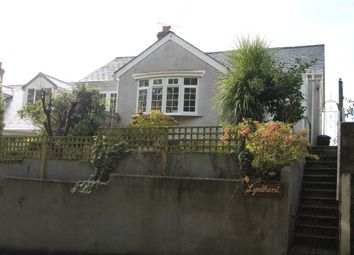 Thumbnail 3 bed detached bungalow for sale in Johnson Park, Calstock