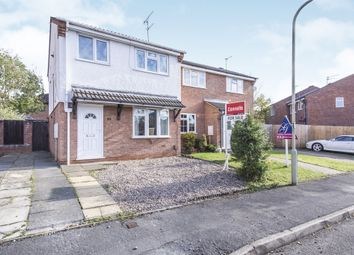 Thumbnail 3 bedroom semi-detached house for sale in Chelsea Close, Glen Parva, Leicester