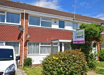 Thumbnail 3 bed terraced house for sale in Ontario Gardens, Worthing, West Sussex