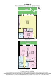 Thumbnail 3 bed duplex for sale in Fulham Palace Road, London