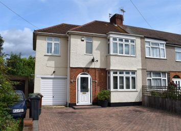 Thumbnail 3 bed end terrace house for sale in Cross Road, Hanworth, Feltham