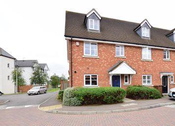 Thumbnail 4 bed end terrace house for sale in Juno Way, Rochester, Kent