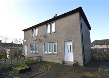 Thumbnail 2 bedroom semi-detached house for sale in Couthally Gardens, Carnwath, Lanark