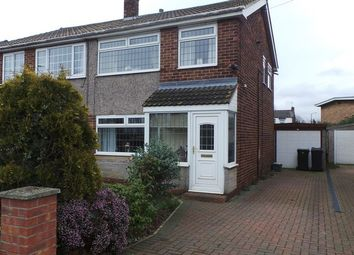 Thumbnail 3 bed semi-detached house for sale in Dalecroft Road, Carcroft, Doncaster