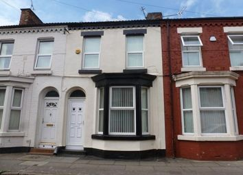 Thumbnail 3 bed terraced house for sale in Rossett Street, Liverpool