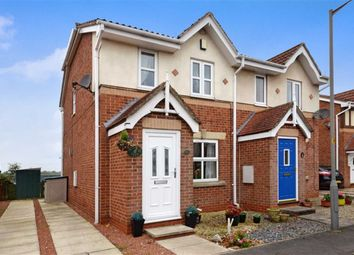 Thumbnail 2 bed semi-detached house for sale in The Meadows, Riccall, York