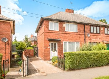 Thumbnail 3 bed semi-detached house for sale in Amberton Crescent, Gipton, Leeds