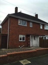 Thumbnail 2 bedroom semi-detached house to rent in Shelley Crescent, Blyth