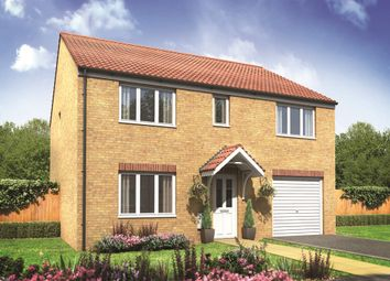 "Thumbnail 5 bed detached house for sale in ""The Taunton"" at The Street, Beck Row, Bury St. Edmunds"