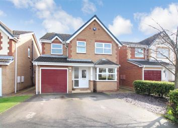 Thumbnail 4 bed detached house for sale in Pasture Avenue, Sherburn In Elmet, Leeds