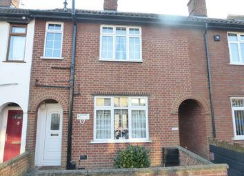Thumbnail 3 bed terraced house for sale in Tillett Road, Norwich