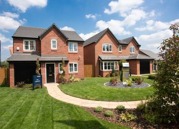 Thumbnail 4 bedroom detached house for sale in Kingfisher Reach, Wistaston Green Road, Wistaston
