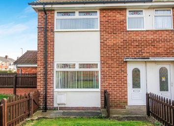 Thumbnail 4 bedroom end terrace house for sale in Northfield, Withernsea