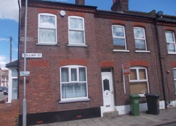 Thumbnail 4 bed terraced house to rent in William Street, Luton