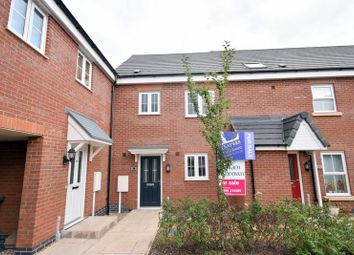 Thumbnail 3 bed town house for sale in Aitken Way, Loughborough