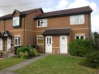 Thumbnail 1 bed terraced house to rent in Didcot, Oxfordshire