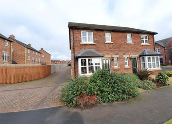 Thumbnail 3 bed semi-detached house for sale in Kings Drive, Kingmoor Park South, Carlisle