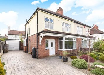 Thumbnail 3 bed semi-detached house for sale in Talbot Grove, Roundhay, Leeds