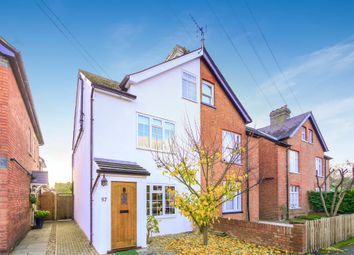 Thumbnail 4 bed semi-detached house for sale in Abbey Road, Chertsey