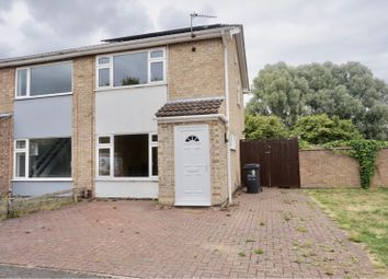 Thumbnail 2 bed semi-detached house for sale in Swithland Close, Loughborough