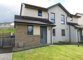 Thumbnail 2 bed semi-detached house for sale in Bridgeview, Conon Bridge, Dingwall