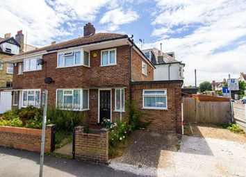 Thumbnail 4 bedroom semi-detached house for sale in Brockman Road, Folkestone