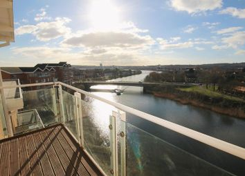 Thumbnail 2 bedroom flat to rent in Penstone Court, Century Wharf, Cardiff