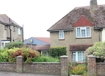 Thumbnail 3 bed semi-detached house for sale in Rotunda Road, Eastbourne