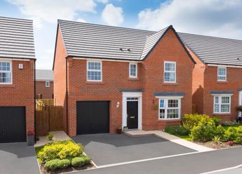 "Thumbnail 4 bed detached house for sale in ""Finsbury"" at Manor Drive, Upton, Wirral"