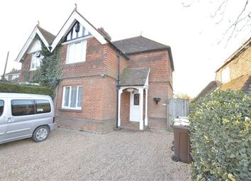 Thumbnail 3 bedroom semi-detached house for sale in Station Road, Northiam, Rye, East Sussex