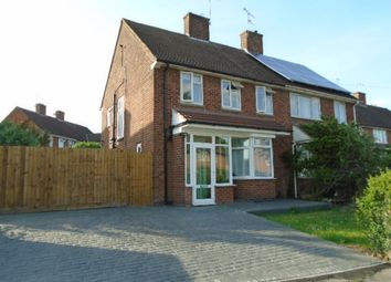Thumbnail 3 bed semi-detached house to rent in Valley Drive, Leicester