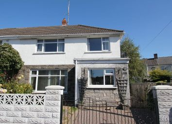 Thumbnail 3 bed semi-detached house for sale in Brookside, Robins Lane, Barry