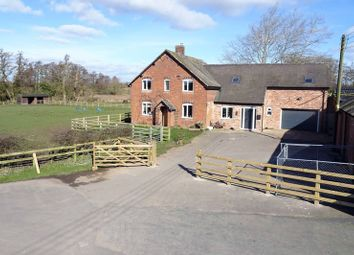 Thumbnail 5 bed detached house for sale in Brookfield Farm, Lower Ruele, Staffordshire