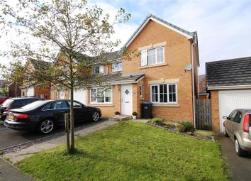 Thumbnail 4 bed semi-detached house to rent in Beechwood Close, Sacriston, Durham