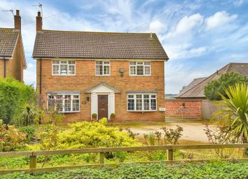 Thumbnail 4 bed detached house for sale in Station Road, Upper Broughton, Melton Mowbray