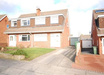 Thumbnail 3 bed semi-detached house to rent in Farndon Way, Oxton, Merseyside