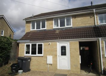 Thumbnail 3 bed end terrace house to rent in Aldsworth Close, Fairford