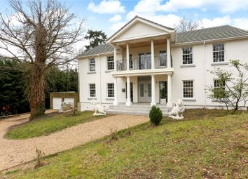 Thumbnail 4 bedroom detached house for sale in Dower Park, St Leonards Hill, Windsor, Berkshire