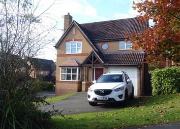 Thumbnail 4 bed detached house for sale in Margery Close, Ashbourne
