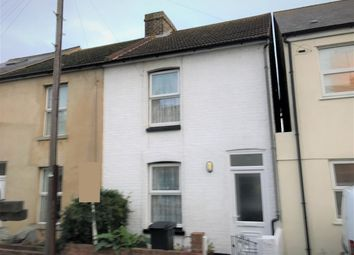 Thumbnail 2 bed end terrace house for sale in Alma Road, Ramsgate