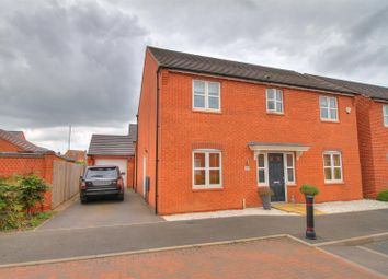 Thumbnail 4 bed detached house for sale in Farley Crescent, Ibstock