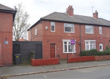 Thumbnail 3 bedroom semi-detached house for sale in Miriam Street, Manchester