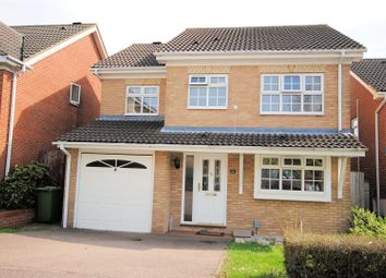 Thumbnail 4 bed detached house for sale in The Poplars, Cheshunt, Waltham Cross