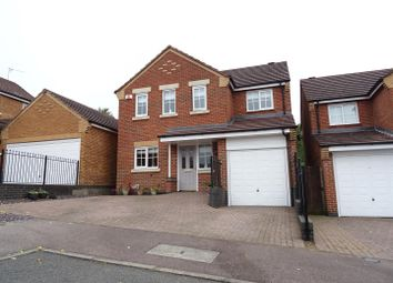 Thumbnail 4 bed detached house for sale in Robinson Road, Whitwick, Leicestershire
