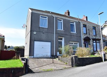 Thumbnail 3 bed semi-detached house for sale in Heol Gwell, Treboeth, Swansea